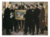 Homage to C&#233;zanne Giclee Print by Maurice Denis