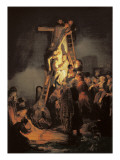 Descent from the Cross Prints by  Rembrandt van Rijn
