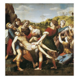 The Deposition Reproduction procédé giclée par  Raphael
