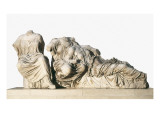 Figures of 3 Goddesses from the East Pediment of the Parthenon Print