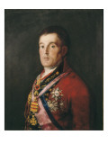 The Duke of Wellington Lámina por Francisco de Goya