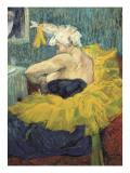 The Clowness Cha-U-Kao Giclee Print by Henri de Toulouse-Lautrec