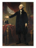 George Washington Reproduction procédé giclée par George Peter Alexander Healy