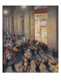 Rissa in Galleria (Riot at the Gallery) Art by Umberto Boccioni