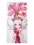 Apple Tree Queen Giclee Print by Camilla D'Errico