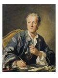 Denis Diderot Prints by Louis Michel Van Loo