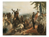 The Abolition of Slavery Prints by Francois Auguste Biard