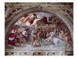 Stanza Di Eliodoro Reproduction procédé giclée par  Raphael