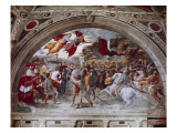 Stanza Di Eliodoro Giclee Print by  Raphael