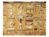 Tomb of Seti I Giclee Print