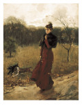 Walk Through the Park Premium Giclee Print by Giovanni Boldini