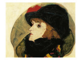 Portrait of Ida Roessler Poster by Egon Schiele