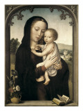 Virgin and Child Art by Gerard David