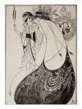 Salome Impresso gicle por Aubrey Beardsley