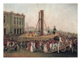 Execution of Marie Antoinette Poster