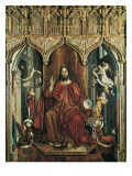 Christ Giving His Blessing Giclee Print by Fernando Gallego