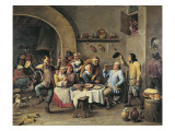 The King Drinks Posters by David Teniers the Younger