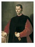 Portrait of Niccolo Machiavelli Prints by Santi Di Tito