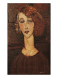 Renée Prints by Amedeo Modigliani