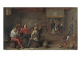 The Conversation Art by David Teniers the Younger