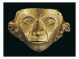 Gold Mask Prints