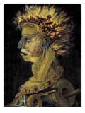 Fire (Ignis) Giclee Print by Giuseppe Arcimboldo