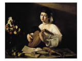 The Lute-Player Giclee Print by  Caravaggio