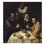 Luncheon Kunst van Diego Velázquez