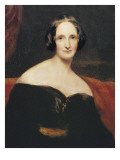 Mary Wollstonecraft Shelley Giclee Print by Richard Rothwell