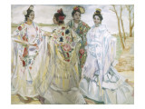 Women with Shawls Giclee Print by Francisco De Iturrino