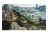 The Martyrdom of St Prints by Joachim Patenir