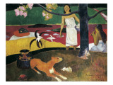 Pastorales Tahitiennes Posters by Paul Gauguin
