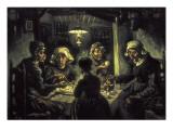 Les mangeurs de pommes de terre Reproduction procédé giclée par Vincent van Gogh