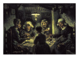 The Potato Eaters Lámina giclée por Vincent van Gogh