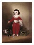 Manuel Osorio Manrique De Zuñiga Premium Giclee Print by Francisco de Goya