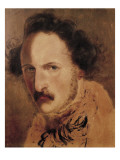 Portrait of Gaetano Donizetti Giclee Print by Domenico Induno