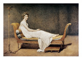 Madame Recamier Prints by Jacques-Louis David