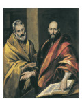 Sts Peter and Paul Poster by  El Greco