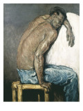 The Negro Scipion Giclee Print by Paul Cézanne