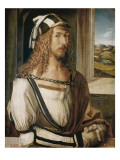 Auto-portrait Reproduction giclée Premium par Albrecht Dürer