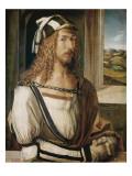 Self-Portrait Giclée-Premiumdruck von Albrecht Dürer