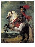 Philip IV on Horseback Giclee Print by Jan Van, The Elder Kessel