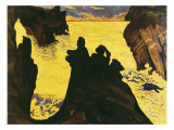 The Yellow Sea Reproduction proc&#233;d&#233; gicl&#233;e par Georges Lacombe