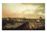 Vienna Viewed from the Belvedere Palace (Veduta Di Vienna Dal Belvedere) Posters by Bernardo Bellotto