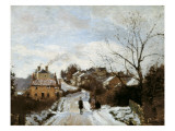 Fox Hill, Upper Norwood Print by Camille Pissarro
