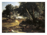 Forest of Fontainebleu Posters by Jean-Baptiste-Camille Corot
