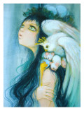 Royal Egg Watcher Reproduction procédé giclée par Camilla D'Errico