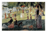 An Afternoon at La Grande Jatte Giclee Print by Georges Seurat
