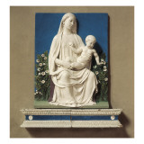 Madonna of Roses Giclee Print by Luca Della Robbia