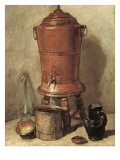 The Copper Drinking Fountain (La Fountain De Couvre) Giclee Print by Jean-Baptiste Simeon Chardin